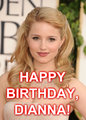 Dianna the Birthday Girl - dianna-agron fan art