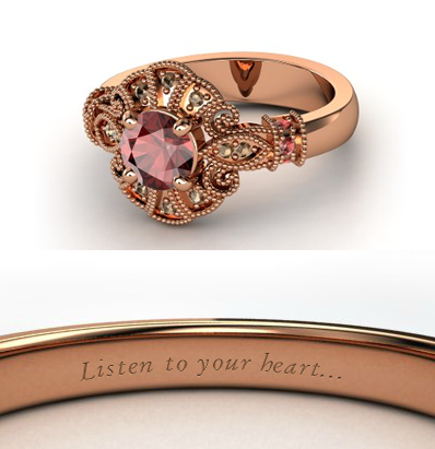 디즈니 Engagement Ring - Pocahontas