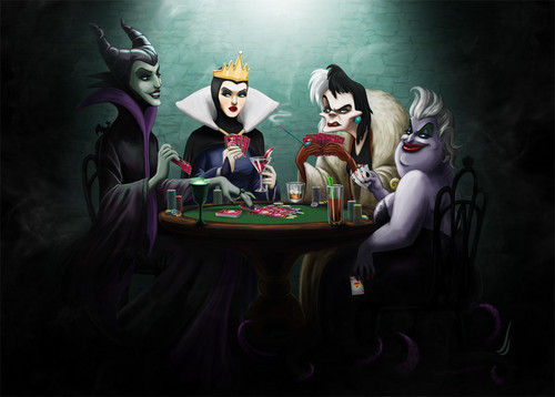 Childhood Animated Movie Villains fondo de pantalla titled disney Villainesses