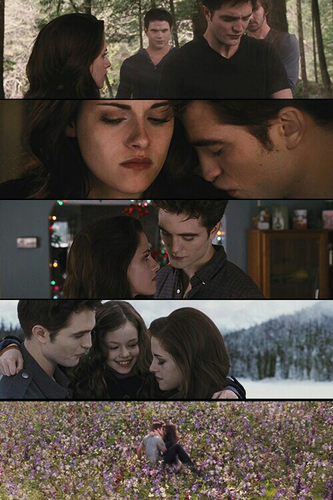Edward Bella and Renesmee