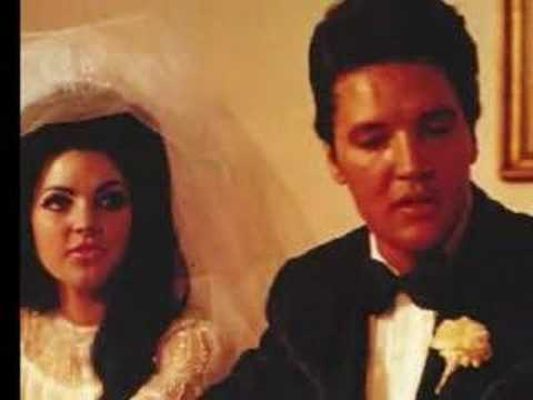 Elvis And Priscilla On Their Wedding dag Back In 1967