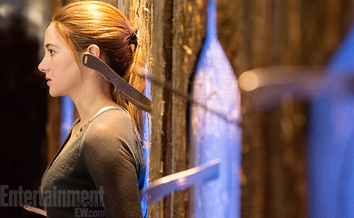 Entertainment Weekly: 'Divergent' Movie First Look! [Shai as Tris Prior]
