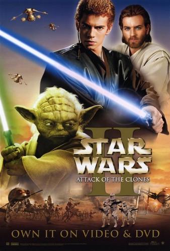 Ep. II Anakin, Obi-Wan and Yoda