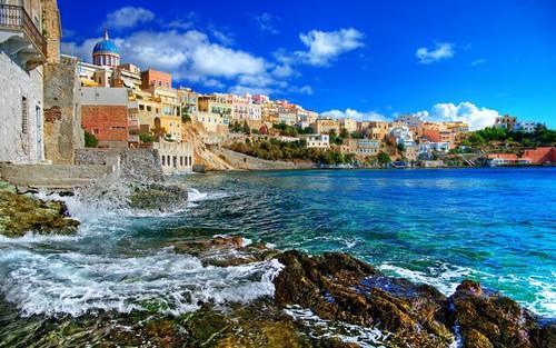 Ermoupoli in Syros Island