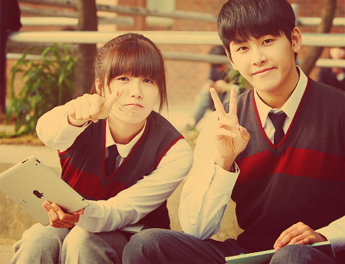 EunJi and Hoya <3333