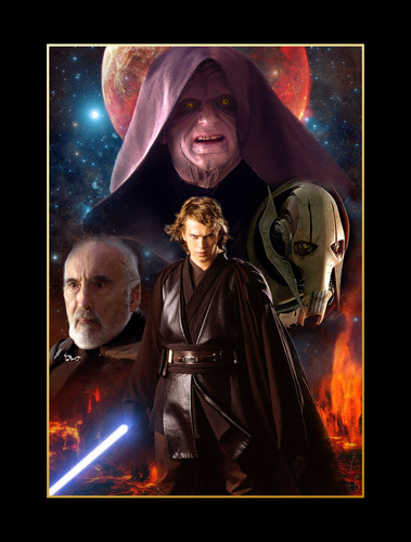 bintang Wars: Revenge of the Sith wallpaper entitled Evil