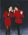 Fran & Joan Collins - the-nanny photo