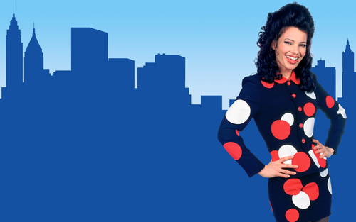 The Nanny wallpaper possibly containing an outerwear called Fran