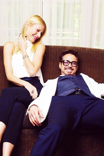 GWYNETH AND ROBERT