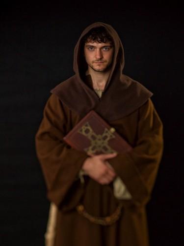 George as Athelstan in Vikings