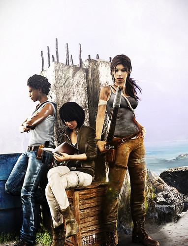 Girls - tomb-raider-reboot Photo