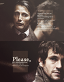 Hannibal Lecter & Will Graham - hannibal-tv-series fan art