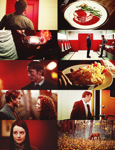 Hannibal / Red + White + ゴールド