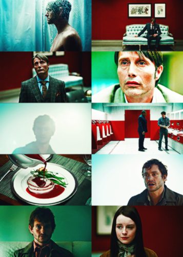 Hannibal + blue and red