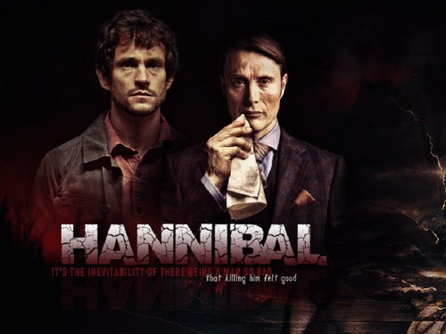 한니발 TV 시리즈 바탕화면 possibly with a business suit called Hannibal Lecter & Will Graham