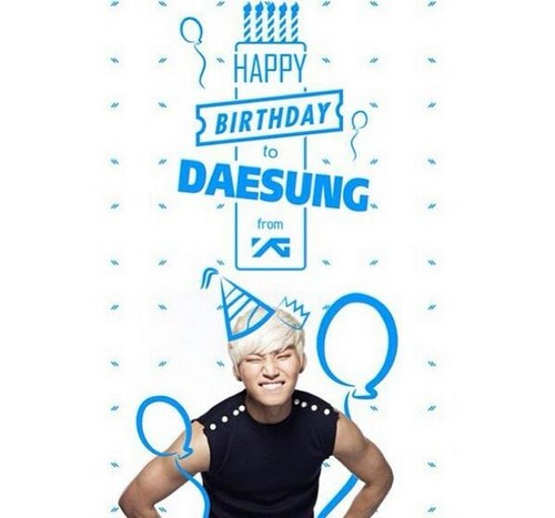 Happy Birthday Daesung! ♥ ♥