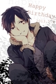 Happy Birthday Izaya! - durarara fan art