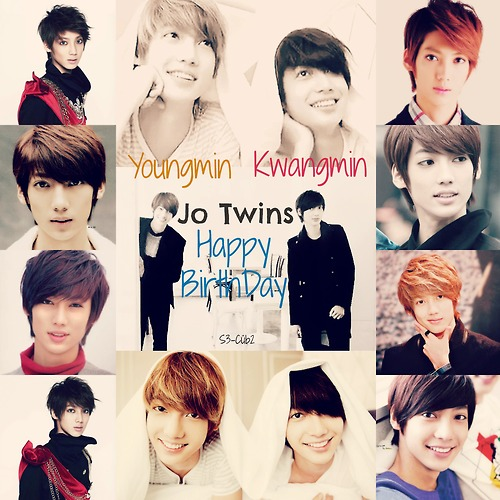 Boyfriend wallpaper containing a portrait called Happy Birthday Jo Twins ~
