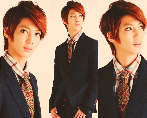 Boyfriend hình nền containing a business suit, a suit, and a two piece entitled Happy Birthday Jo Twins ~