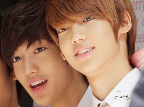 Boyfriend wallpaper probably with a business suit, a suit, and a portrait entitled Happy Birthday Jo Twins ~