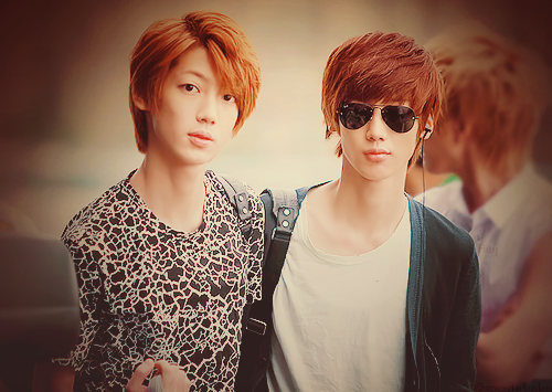 Boyfriend wallpaper containing sunglasses called Happy Birthday Jo Twins ~