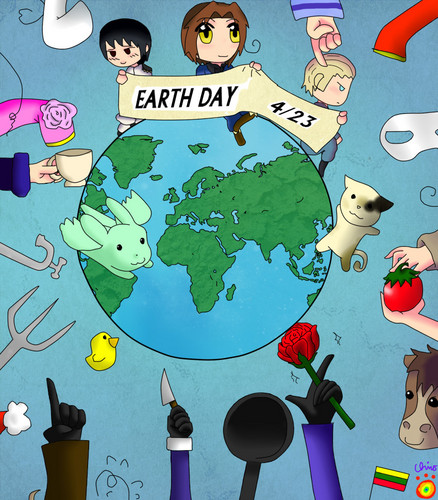 Happy Earth Day~!