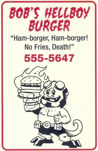 Hellboy Burger