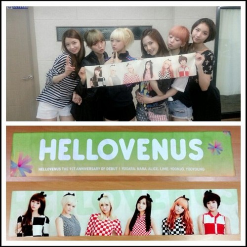 Hello Venus proudly celebrates their first anniversary