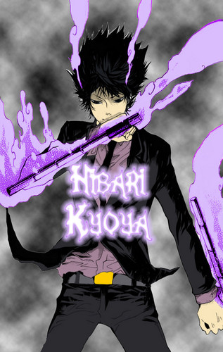 Hibari Kyoya wallpaper called Hibari Kyoya <3