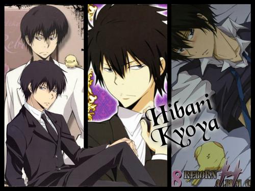 Hibari Kyoya~!! <3