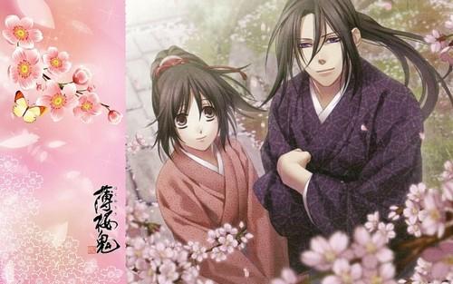 Hijikata and Chizuru