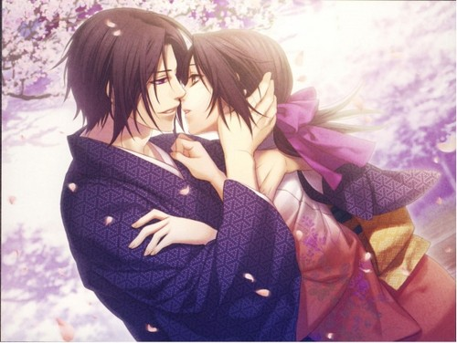 Hijikata and Chizuru