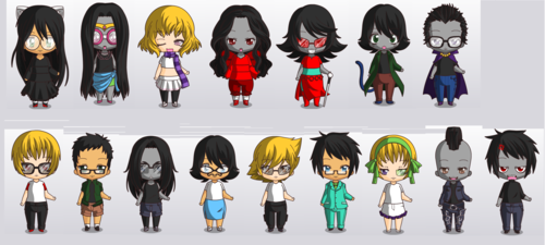 Homestucks I could make in Chibi