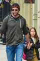 Hugh Jackman With His Daughter - hugh-jackman photo