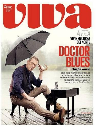 Hugh Laurie Magazine Viva - abril 2013