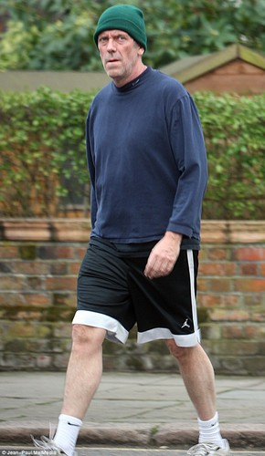 Hugh Laurie in London 04/21/2013