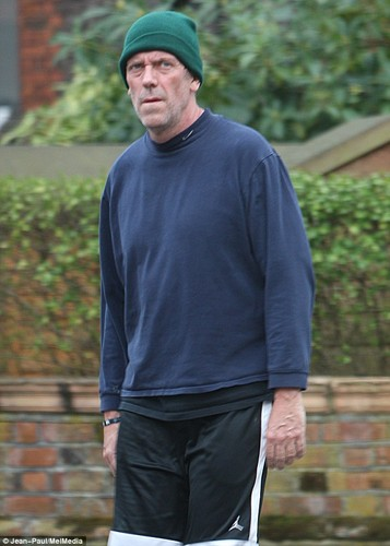 Hugh Laurie in London 04/21/2013