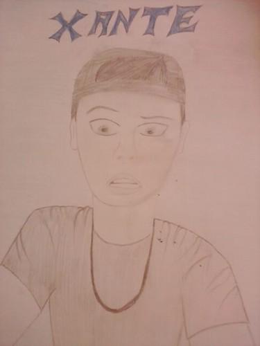 I drew Xantee <3
