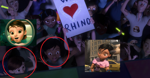 Disney's Bolt پیپر وال possibly with a sign titled I noticed something...