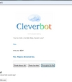I talked to BEN on cleverbot!