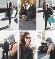 Ian and Nina in New York 05/02/2013 - ian-somerhalder-and-nina-dobrev photo