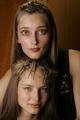 Iekeliene Stange et Ruslana Korshunova