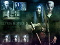 Illyria & Spike - angel wallpaper
