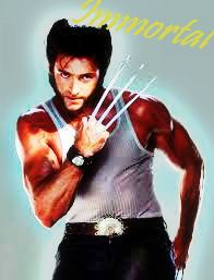 Hugh Jackman as Wolverine hình nền probably with a vớ, thả, còn hàng called Immortal