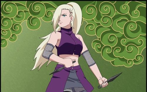 Naruto Shippuuden fond d'écran with animé called Ino