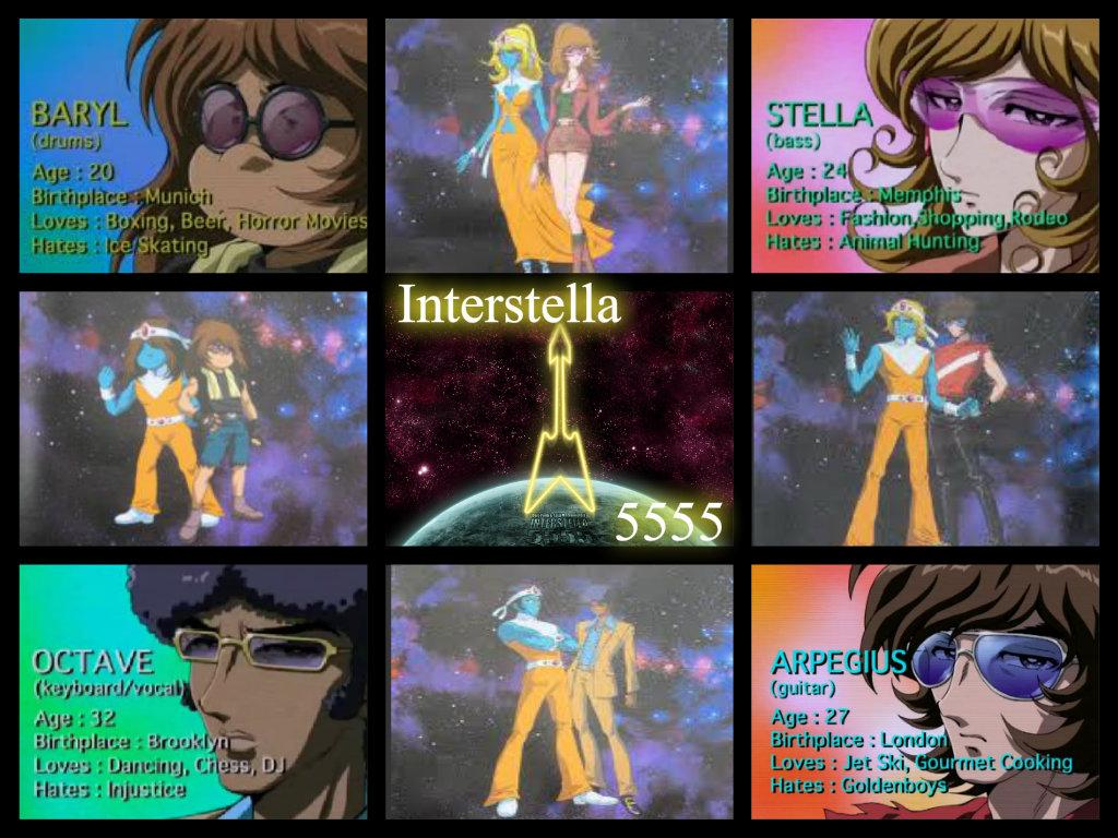 The gallery for --> Interstella 5555 Arpegius