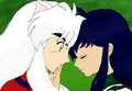Inu Yasha and Kagome - inuyasha fan art