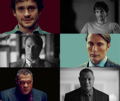 Jack Crawford, Hannibal Lecter & Will Graham