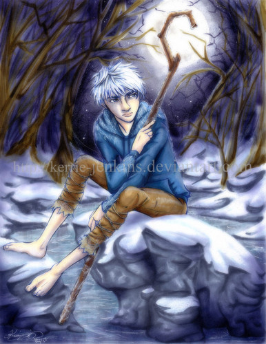 Childhood Animated Movie heroes wallpaper possibly with anime entitled Jack Frost