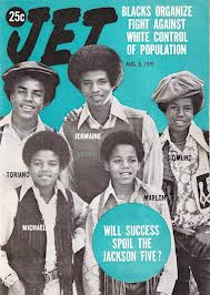 "Jackson 5 On The Cover Of ""JET"" Magazine"